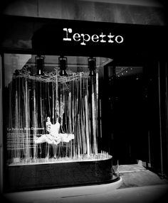 Repetto shop in Cannes on Rue D'Antibes. Simply glorious.