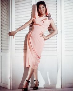 Dorothy Dandridge as Carmen Jones in a fabu pink dress from the 50's!