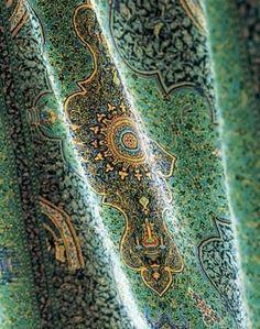 Magnificent Silk Persian Carpet