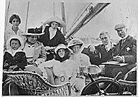 Franklin D. Roosevelt and Eleanor Roosevelt in Campobello, 1909