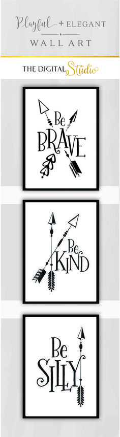 Modern Nursery Wall Art, Black and white Nursery Art, Arrow Nursery Decor, Woodland Nursery Decor, Cabin Wall Art, Tribal Nursery, Camping Nursery