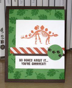 NO BONES ABOUT IT -- Snapdragon Stamps: Dem Bones (Again)