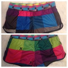 Hurley workout shorts Colorful, fun workout or casual shorts. Hurley Shorts