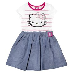 Hello Kitty™ Infant Toddler Girls' Short Sleeve Tunic Dress