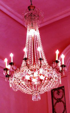 This chandelier is for all the girlies who like fancy stuff! My room is more cozy, but hey, there are some really fancy rooms out there :)