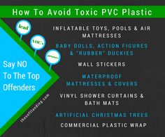 How (and Why) to Avoid Toxic PVC Plastic in Everyday Products