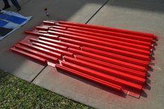 How to paint Kura bed.