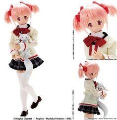 Used Puella Magi Madoka Magica Kaname Madoka Fashion Doll Azone figure JP 521