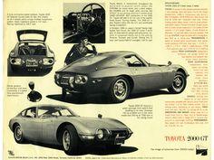 1967 Toyota 2000GT.