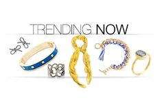 Opposites attract in this week's most popular looks. Go hard with edgy skulls and chunky chains, but soften up with silky fabrics, deep blues, and gentle curls – and take 'em home at up to 15% off.
