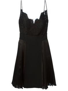Givenchy Robe Évasée À Encolure En Dentelle Festonnée - Dell'oglio - Farfetch.com
