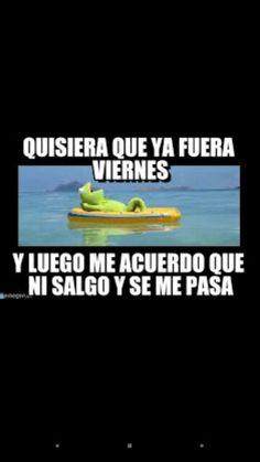 Ni Salgo Jajaja Funny Quotes Humor Spanish Humor