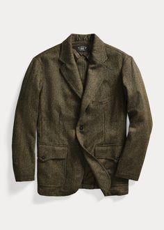 Wool-Blend Tweed Sport Coat Ralph Lauren, Lana, Tweed, Blazer, Jackets, Products, Women, Fashion, Casual Blazer