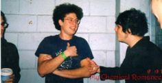 young MCR   Ray Toro & Gerard Way
