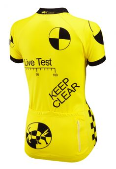 Test Dummy Road Cycling Jersey | Foska.com