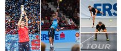 The tennis aristocracy comes to Vienna for the Erste Bank Open tournament, where world-class players fight for valuable points at the World Tour Finals. Tennis Tournaments, World Class, Vienna, Austria, Basketball Court, October, Sports, Hs Sports, Sport