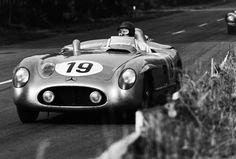 Juan Manuel Fangio/Stirling Moss - Mercedes 300 SLR - 1955 24 Heures du Mans