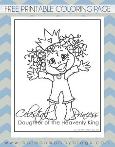 Tons of free LDS printables including coloring pages, cupcake toppers, etc. at Mormon Mommy Printables Lds Coloring Pages, Free Printable Coloring Pages, Free Printables, Mormon Messages, Church Activities, Kid Activities, Scripture Study, Faith, Jesus Christ