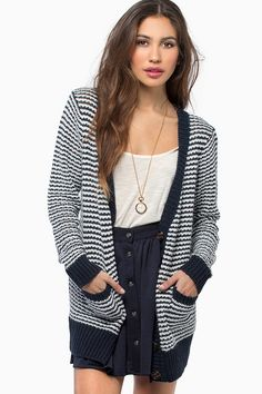 In Line Cardigan #TOBI