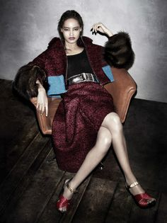 By Steven Meisel for Prada Campaign F-W 2013