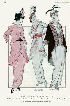 July 1914 fashion