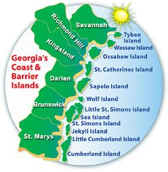 We are going to Jekyll Island in July for a training seminar! can't wait!!!  Then on to Charleston!!! :)