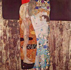 Las tres edades de la mujer- Gustav Klimt