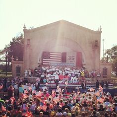 Day four of the bus tour closing out with an event in Davenport, IA.