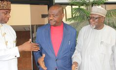 Wike and Amaechi finally settle for peace ahead of re-run election