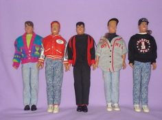 Did Donnie and Danny have rat tails??  Played with these daily.