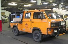 vw double cab orange and grey - Google Search