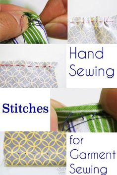 Hand Sewing Stitches - MellySews.com