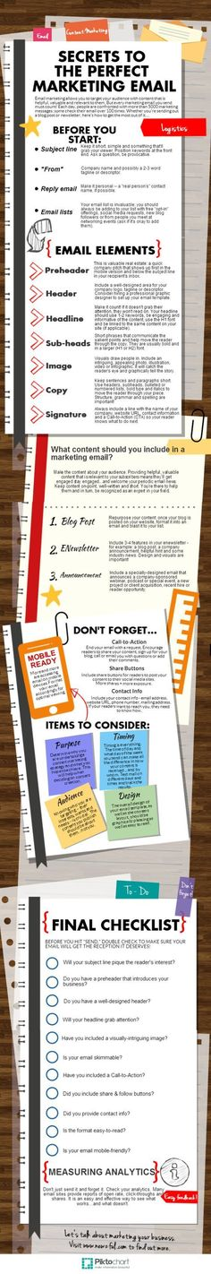 Tips on creating the perfect #marketing emails for your #Hendersonville local business