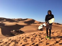 We did some sandboard in the middle of the desert! Diego Barrueco, Deserts, Mountains, Instagram Posts, Nature, Middle, Travel, Naturaleza, Viajes