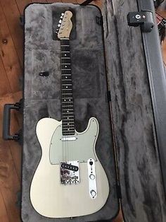 Fender American Professional Telecaster 6 String Rosewood Fingerboard Electric Guitar - Olympic White for sale online Telecaster Pickups, Guitar Pickups, Fender Telecaster, Guitar Room, Guitar Girl, Fender Esquire, Guitar Inlay, Guitar Cabinet, 12 String Guitar