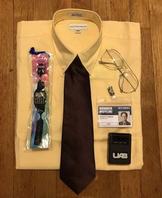 3f7db8609b4 Dwight Schrute Dunder Mifflin Costume from The Office  Size Medium The  Office Costumes