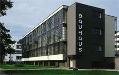 bauhaus   Walter Gropius, Shop Block, the Bauhaus, Dessau, Germany , 1925-26