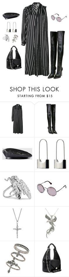 """Untitled #113"" by stylebymalik ❤ liked on Polyvore featuring Balenciaga, Gucci, Carolina Glamour Collection and Miss Selfridge"