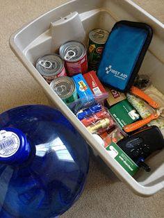 Disaster Preparedness - Build Your Kit