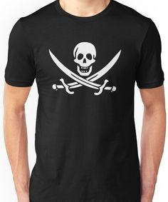 Flag of Calico Jack Rackham Unisex T-Shirt