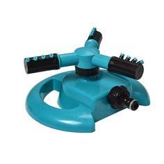 Aspersores de Agua Giratorio Durable Tres Brazo Sistema de Rociadores de Agua de Rociadores de Agua de 360 Grados de Rotación Automática