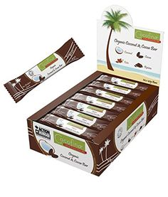 (Pack of 24) Cocofina - Coconut & Cocoa Bar 40 g Cocofina http://www.amazon.co.uk/dp/B00MH42Z2I/ref=cm_sw_r_pi_dp_lkahvb0RC0Z11