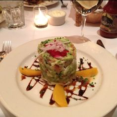 Avocado shrimp crab salad from Bobby Van's steakhouse, NYC