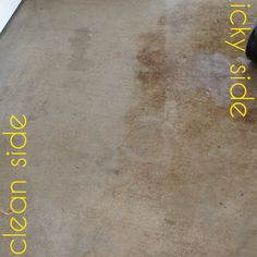 How To Clean A Concrete Patio | Concrete Patios, Cleaning Concrete Patios  And Patio