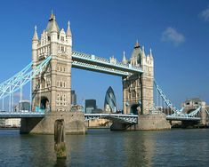 Tower Bridge, London...love the city & architecture...this is my favorite bridge of my travels to date