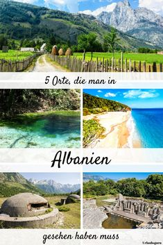 Insider tips in Europe – these countries entice with adventure - The World Travel Europa Camping, Roadtrip Europa, European Vacation, European Travel, Albania, Life Is An Adventure, Adventure Travel, England Germany, Europe Bucket List