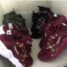 "11.4k Likes, 186 Comments - I DO NOT CUSTOMIZE SHOES! (@laebaeshoes) on Instagram: ""Black or Burgundy? #explorepage #viral"""