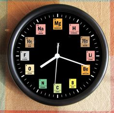 PERIODIC TABLE      http://www.etsy.com/listing/156433165/periodic-table-student-10-inch-black?ref=br_feed_53_feed_tlp=home-garden