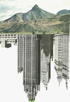 Super Ideas For Man Vs Nature Art Photography Landscape Designs, Urban Landscape, Photomontage, Man Vs Nature, Contrast Art, Wallpapers Tumblr, Gcse Art Sketchbook, Sketchbook Layout, Urban Nature