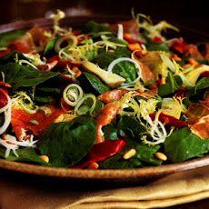 Piquillo Pepper, Serrano Ham, and Artichoke Salad Recipe